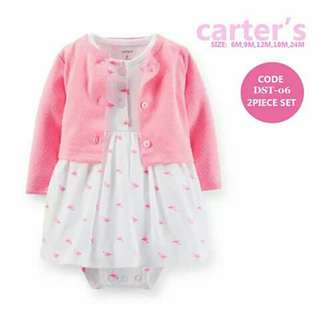 Baby Cardigan and Dress Set - DST06