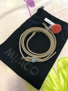 Mimco imaginneer strap and Pom-Pom