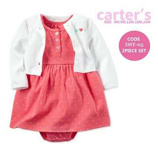Baby Cardigan and Dress Set - DST05