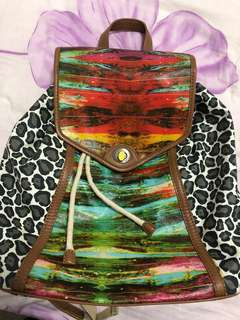 Rare Mimco one tribe backpack mint condition
