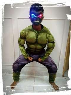 Hulk utk SEWA(10-12 yrs)
