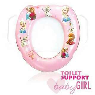 Kids Toilet Seat Support - FROZEN