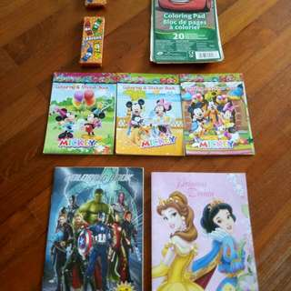 Children's Colouring & Sticker Books