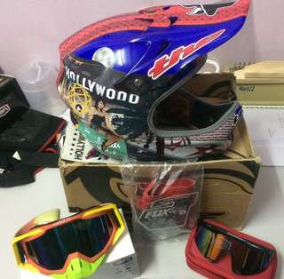 Bundle of downhill accessories