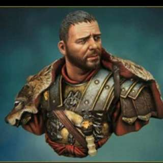 Gladiator  General Maximus 1/10 Scale Bust Resin Figure Kit Assembly And Painting Required Brand New