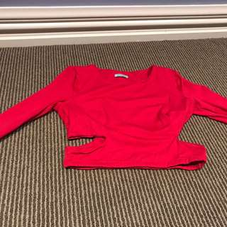 KOOKAI size 2 red crop