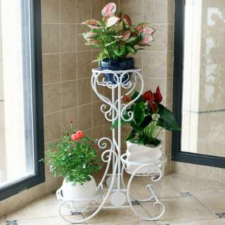 Metal Plant Stand - 3 Level