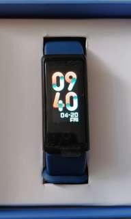 MO FIT 彩屏智能手環 深藍色 血壓/心跳/運動