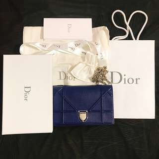 Dior wallet on chain (like new)