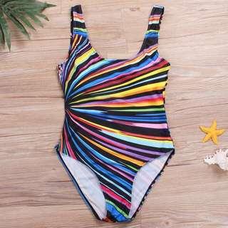 Swimming Costume Padded Monokini Plus