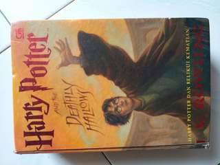 Harry Potter And The Deathly Hallows Buku Novel Book