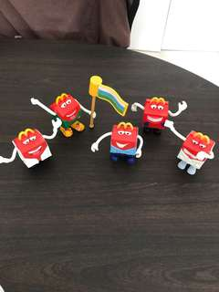 Vintage MacDonald French Fries Collection