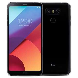 LG G6 Black 64GB Warranty till April 2019 Good Condition