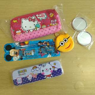 BN Pencil Box, Stationery case and set  all for $5