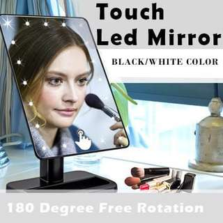 🌸 TOUCH LED MAKEUP MIRROR