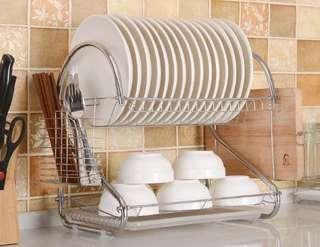 🚚 不鏽鋼碗盤架