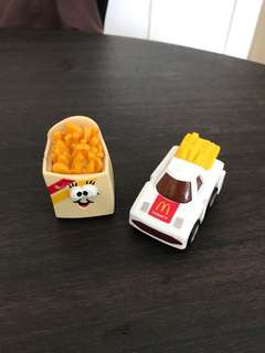 Vintage MacDonald French Fries Collection 2