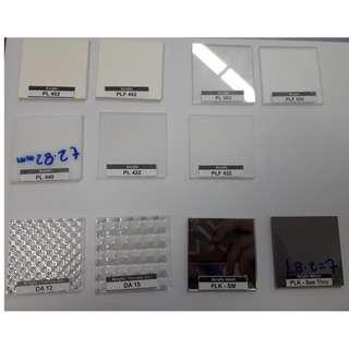 Acrylic Sheet (Multiple Colors Available)