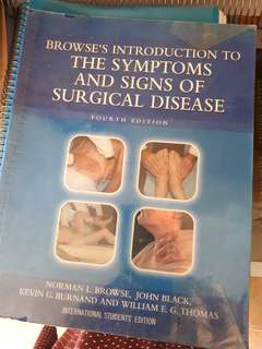 Browse's Introduction to the Symptoms and Signs of Surgical Disease 4th Edition