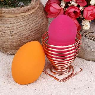 Rose Gold Makeup Sponge Holder