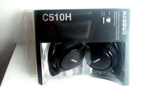 BN in  sealed  packaging Cresyn C510H Stereo Headphones