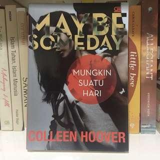 Novel Maybe Someday