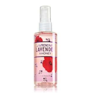 Bath & Body Works French Lavander & honey Body Mist