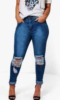 Boohoo Plus Jeans