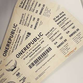Rock Zone Onerepublic Concert