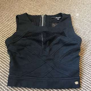 GUESS Los Angeles crop top