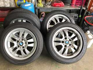 BMW原廠16吋框 輪胎