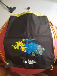 BNWT Smiggle Boys drawstring bag