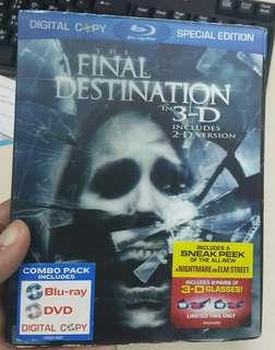 死神來了3D  bluray 藍光碟 双碟
