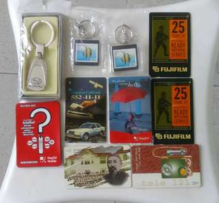 Phonecards & Keychains