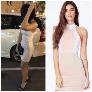 Missguided contrast dress