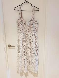 Portmans white dress size 12