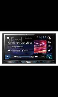 """New Set Pioneer AVH-X595BT In-Dash Double-DIN DVD Multimedia AV Receiver with 7"""""""" WVGA Touchscreen Display, MIXTRAX, Built-in Bluetooth®, and Direct Control for iPod/iPhone and Certain Android Phones."""
