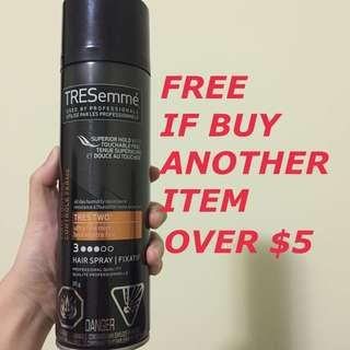 TRESemmé hair spray