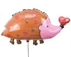 "38"" Hedgehog Foil Balloon"