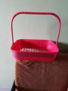 Plastics basket