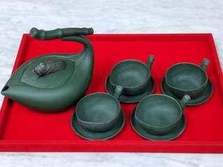 周才军-一片清心。Famous master tea set.
