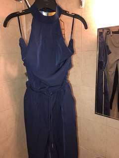 Blue Fashion nova Jumpsuit