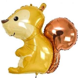 "36"" Woodland Squirrel Foil Balloon"
