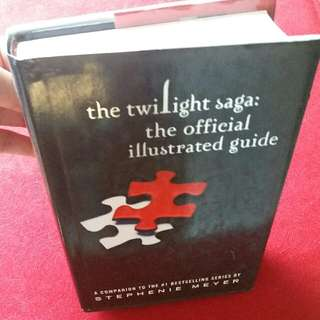 THE TWILIGHT SAGA HARD BOUND COLORED PICTURE BOOK
