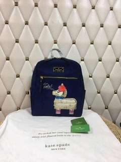 Kate Spade Backpack Navy blue