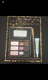 ❤️SALE❤️ too faced eyeshadow palette bundle