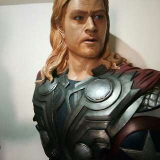 Avengers Thor Life Size Bust Statue