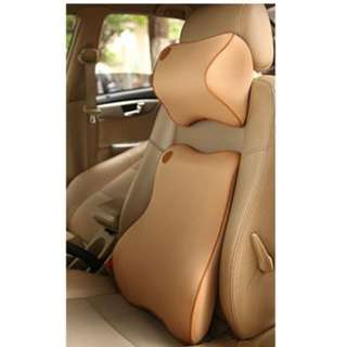 Car back support cushion