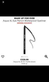 ❤️sale❤️ makeup forever eye pencil in black