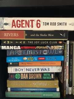 Pre-loved novels/storybooks